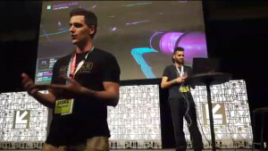 SXSW Gaming Expo 2017 Gamers Voice Stage Presentation of Bootleg Systems by Neonable founder Gabriel De Roy