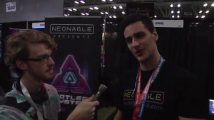 SXSW Gaming Expo 2017 Neonable Booth Interview with Neonable founder Gabriel De Roy