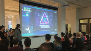 Discord Montreal 2018 Montreal GamePlay Space Neonable Bootleg Systems Loto-Quebec Indie Zone Presentation