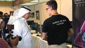 Kuwait GX2017 Neonable Booth Gabriel De Roy