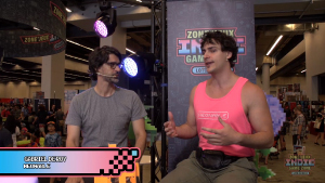 3 Bieres interview with Neonable founder Gabriel De Roy on Loto-Quebec indie zone Twitch stage for Bootleg Systems