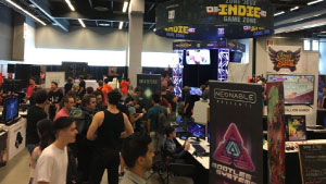 Montreal Comiccon 2017 Neonable Booth in the Loto-Québec Indie Zone