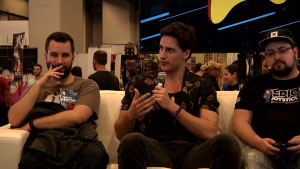 Montreal Comiccon 2017 Neonable Twitch Stream with EpicJoystick and Mathieu Gamache