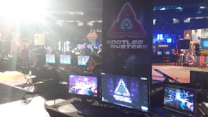 Montreal Dreamhack 2018 Neonable Booth Bootleg Systems
