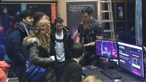 Montreal MEGA 2017 Neonable Booth Bootleg Systems Players
